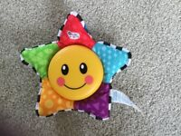 Baby Einstein Star Bright Symphony toy - stroller car seat melody and light toy