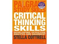 Palgrave Study Skills: Critical Thinking Skills by Stella Cottrell