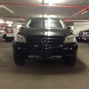 2006 Mercedes-Benz M-Class V.6 engine low Km SUV