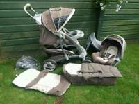 Free to collector. 3 in 1 Pushchair