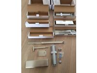 Door closures - Satin Stainless Steel Size 2-4 Light/Med Duty Closer x 2 (Product Code - ST026)