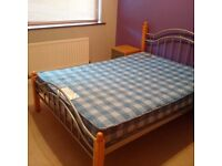 Double Bed Stead & Mattress