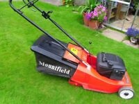 Mountfield Lawnmower, 18 inch cut, Powered Drive