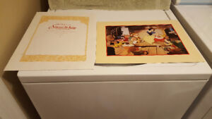 The Disney Store Exclusive Commemorative Lithographs