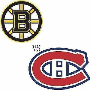 PRE-SEASON CANADIENS VS BOSTON MONDAY SEPT 18TH(GAME IN QUEBEC)