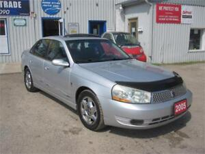 2005 Saturn L Series Sedan|ONE OWNER| NO ACCIDENTS| ONLY 69KM|