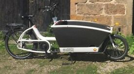 Electric Urban Arrow Family Cargo bike - Buyer to uplift/Courier from North East Scotland