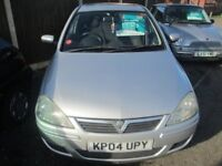 VAUXHAL CORSA 1.2 IN SILVER