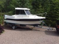 Mariner 195 Pilot House Boat year ( 2013 ONLY 48 HOURS USE ) Mariner 115 Optimax