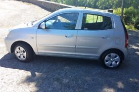 Kia Picanto Car, Automatic, Very low mileage, 2 owners from new, FSH, Handsfree