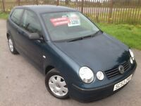 2004 53 VOLKSWAGEN POLO 1.2 TWIST - 12 MONTHS MOT, 67K GENUINE MILES, DRIVES GREAT, HPI CLEAR!!.