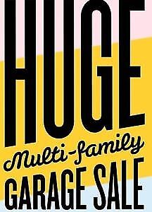 MULTIFAMILY GARAGE SALE FRI JULY 28 AND SAT JULY 29 8 AM TO 4PM