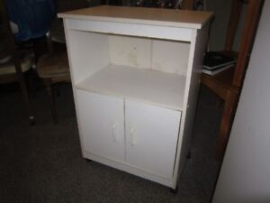 Microwave Stand With Castors For Sale