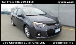 2015 Toyota Corolla S - $9/Day - Sport with Heated Seats & Rear