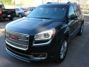 2013 GMC Acadia Denali LOADED SUPER LOW KM FINANCE AVAILABLE