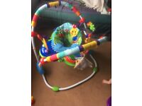 Mint condition baby jumperoo
