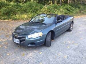 2006 Chrysler Sebring Convertible $3000