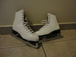 boy's and girl's skates
