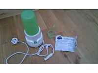 Bottle warmer and Steriliser with car adaptor