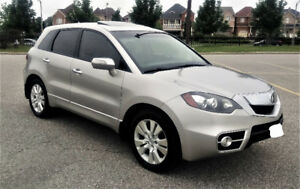 2010 Acura RDX TECH AWD SUV, Crossover TURBO $10900 127133KM