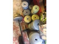 Loads of vinyl weights 0.50p a kg