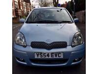 Toyota Yaris Blue 1.0l 3 Door Hatchback 2004 £1095