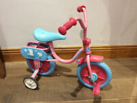 Toddler Peppa Pig Trike Bike with Stabilisers