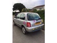 Nissan micra lady owner 1.0 litre
