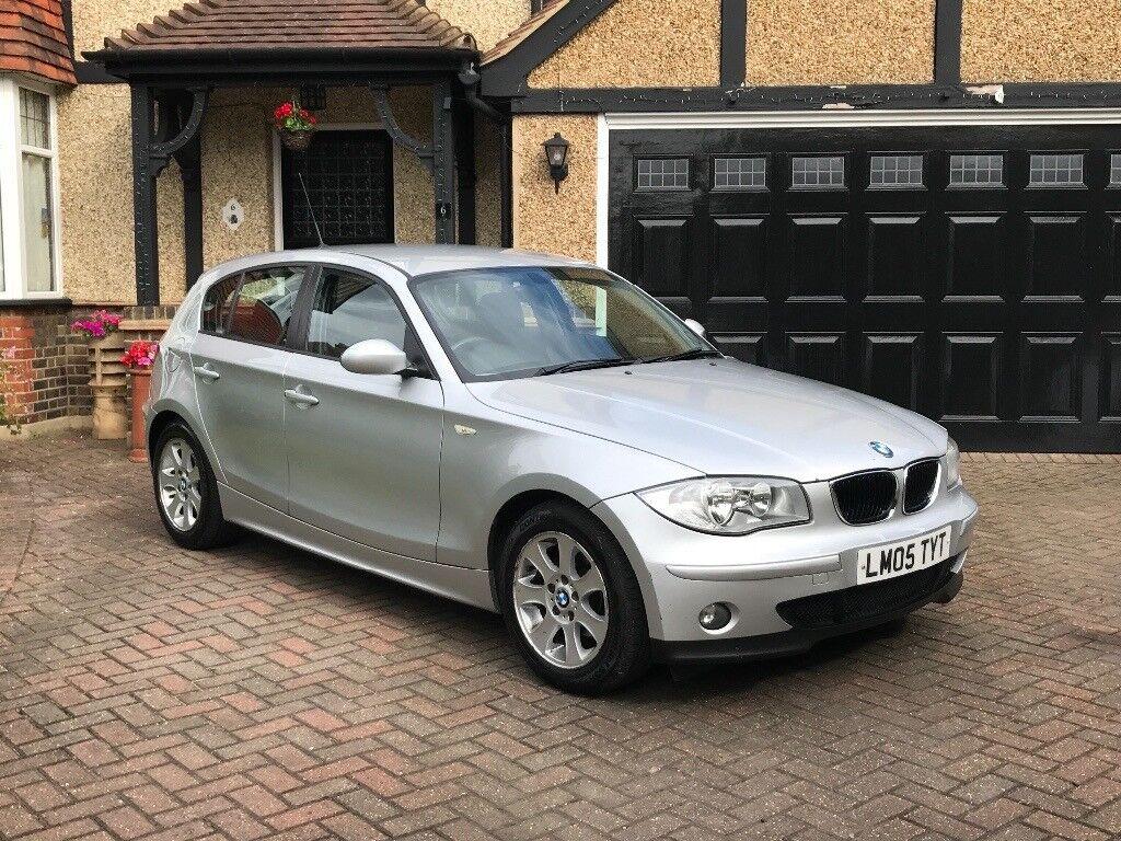 BMW 118d 2005 Silver