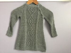 Girls Size 18-24 months knitted grey dress from Joe's