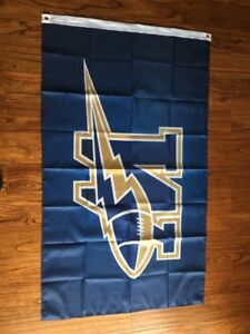 Man cave, Woman cave , Blue Bomber Flags, 3' x5' , B.new sealed