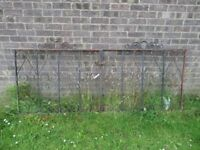 Pair Of Cast Iron Metal Garden Drive Gates - Others Available