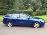 MAZDA 6 2.0 TS DIESEL ESTATE-2005-MOT 11 MONTHS-ALLOY WHEELS AIR CON CD PLAYER