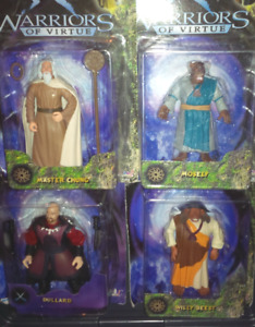16 Pc. Warriors of Virtue Figure Collection