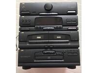 JVC CA-E48 HI-FI System With Bakelite Disc Player JVC AL-E56 : DISC , FM :