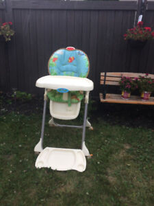 High chair etc