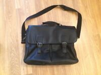 Black Leather Effect Work Bag for sale in Aylesbury