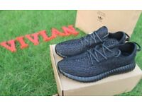 Adidas yeezy 350 boost Private Black best quality come with box uk 9