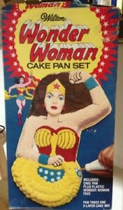 Wonder Woman Cake Pan with Instructions, for sale