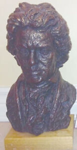 Vintage Beethoven Sculptured Bust by Austin Products