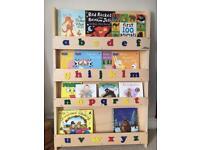 Children's book shelf. Excellent condition