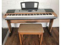 Yamaha DGX-630 Electronic Piano and stool 88 Keys Full size