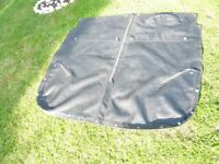 1960s MG MIDGET TONNEAU COVER REAL LEATHER