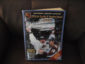 2002 Official NHL Guide and Record Book