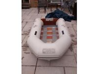 INFLATABLE DINGHY WETLINE 230 , OUTBOARD TRANSOM ,DINGHY TENDER RIB SIB SAILING FISHING BOAT
