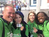 Charity Fundraiser - Street & Events £296-£441 Basic + Uncapped Bonus, Immediate Starts Available