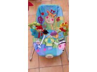 Fisher price vibrating baby bouncer