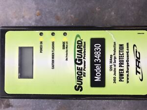 Surge protector for RV