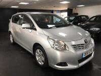 Toyota Verso 1.6 V-Matic T2 5dr (5 Seat) FULL SERVICE HISTORY 5 SEATS