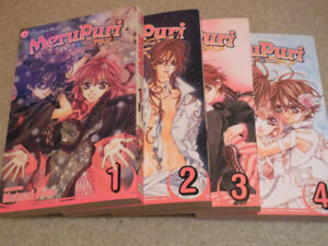 MeruPuri Manga vol. 1-4
